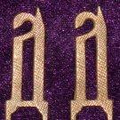 Monogram on shoulder straps Drozdovtsev WHITE MOVEMENT #10855