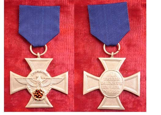 Medal for service in the police 18 years