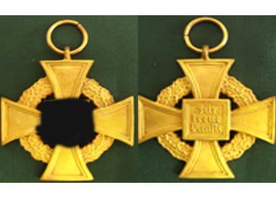 Total official medal for 40 years of service