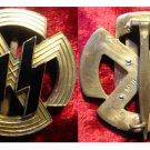Germanic runes in bronze