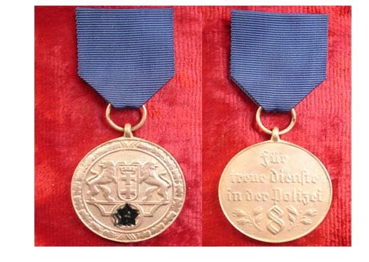 Medal of service in the civil service 8 years