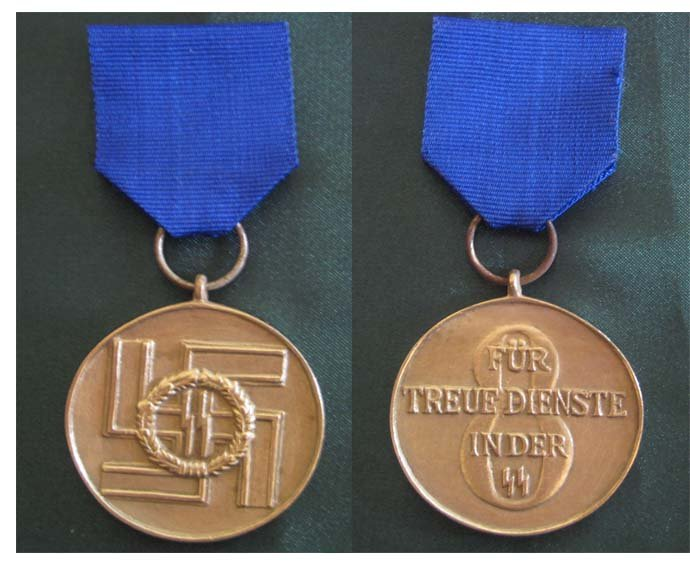 Medal for service in the  for 8 years