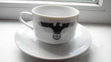 World War II Germany coffee cup and saucer set  #20