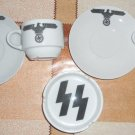 World War II Germany coffee cup and saucer and ashtray set  #31