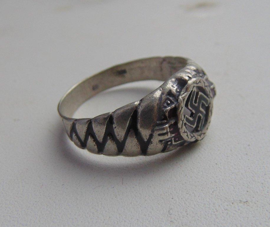 Ring cross silver 800  #4