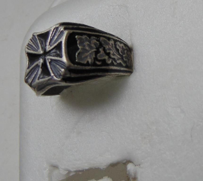 Knight's Cross Ring silver 800 #10
