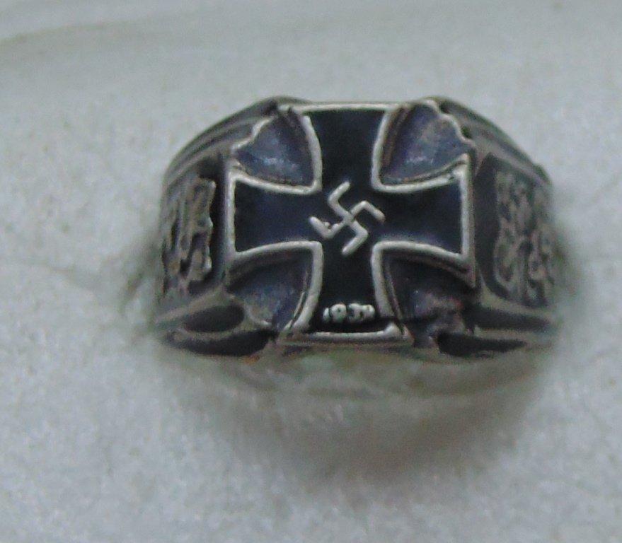 Knight's Cross Ring silver 800  #11