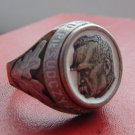 Ring Jozef Pilsudski silver 800 Poland #13