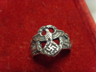 police Ring silver 800  #55