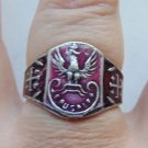 ring with a Polish eagle  #61
