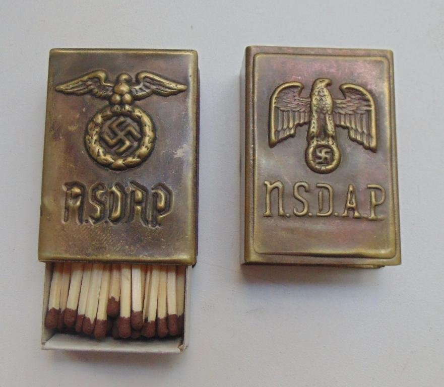 World War II Germany matchbox  #3