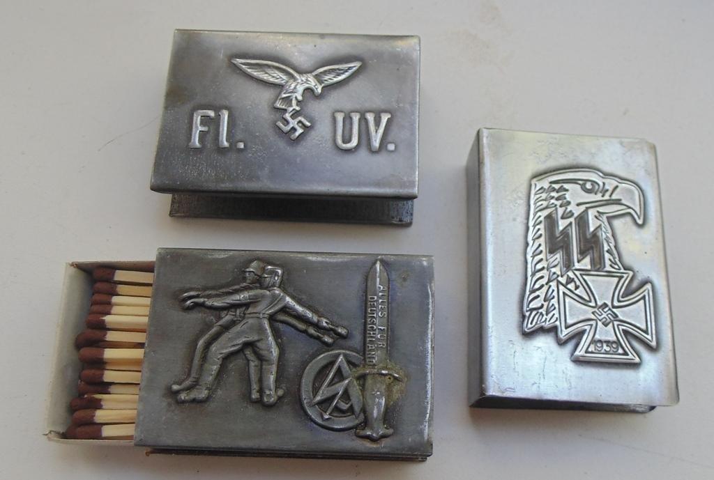 World War II Germany matchbox  #4