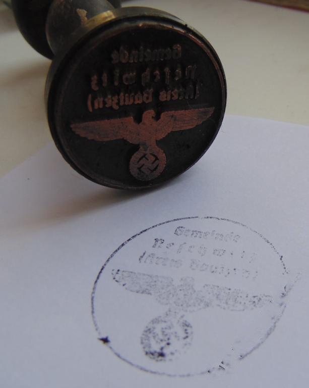 World War II Germany STAMP  #22