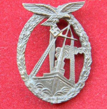 Naval Battle Badge for