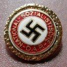 Golden Party Badge barrette