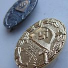 WW II THE GERMAN BADGE LW WH 2 characters Wound July 20, 1944 (gold + silver)