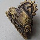 WW II THE GERMAN BADGE LW WH Grundsteinlegung des Volkswagenwerkes MAI 1938