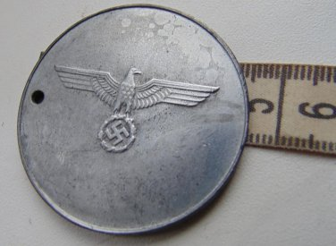 WW II THE GERMAN BADGE LW WH Badge.