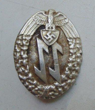 WW II THE GERMAN BADGE LW WH Sign