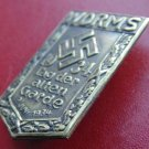 WW II THE GERMAN BADGE LW WH Sign WORMS 1934. tag der alten Garde 2 juni 1934