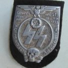 """WW II THE GERMAN BADGE LW WH Sign Marsh common group """"West"""""""