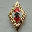 WW II THE GERMAN BADGE LW WH Gold Membership sign
