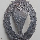 WW II THE GERMAN BADGE LW WH sign aerostata Pilot