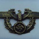 WW II THE GERMAN BADGE LW police badge