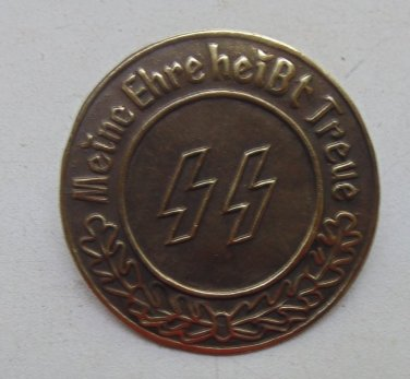 WWII THE GERMAN BADGE Badge .Meine Ehre heisst Treue