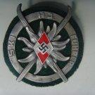 "WWII THE GERMAN BADGE  Badge ""ski instructor""."