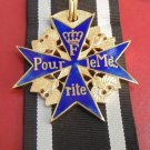 WWII THE GERMAN BADGE  Order of Military Merit Prussian Pour le Merite + tape