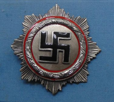 WWII THE GERMAN BADGE  Order of the German Cross. second degree