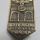 WW II THE GERMAN BADGE Memorable sign  1923-1933 Munchen