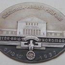 WWII THE GERMAN BADGE Plaque  Gruppe Nordmark, Herbst-prufung