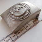 WWII  Buckle on the field with a skull belt