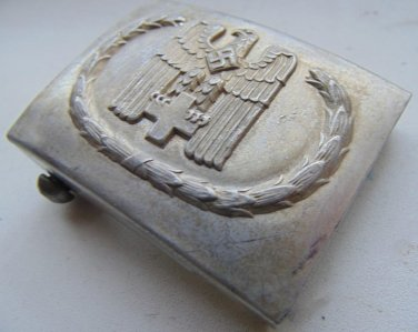 """WWII  Buckle Red Cross. """"Aluminum"""