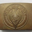 WWII THE GERMAN BADGE  Belt buckle  Steel