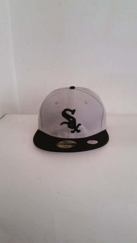 Fitted Chicago White Sox Authentic Collection Era 59FIFTY Game Cap -  7 1/2