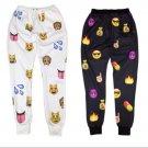 FlameDat Emoji Jogger Pants * Order One Size Larger *