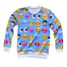 "Women's FlameDat Emoji "" Sea Blue "" Sweatshirt"