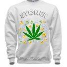 Stoner Child SweatShirt Crewneck  White