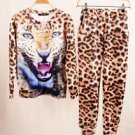 FlameDat Cheetah Jogger Suit