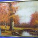 Framed Canvas Art Work