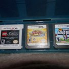 2 Nintendo ds Cartlige, 1 Nintendo 3DS Cartlige