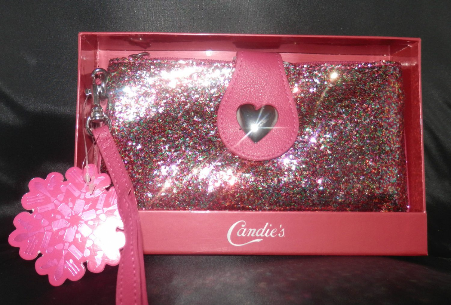 Candie's Pink Wristlet