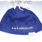 New Girls Navy Blue Hat By Osh'kosh Size Age 7-16