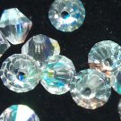 50 bicone beads zche Crystal AB 3mm