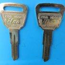 NEW Acura Honda Nickel Plated Key Blanks HD96 X193 ILCO Locksmith 2 each USA