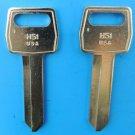 NEW Ford Lincoln Mercury Nickel Plated Key Blanks H51 Locksmith 2 each USA