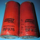 NEW Baldwin BF976 Heavy Duty Secondary Fuel Spin-On Filter Lot 2 USA